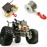 GRC 25T Servo Winch Line Drum For RC Rock Crawler Model Car Aluminum Upgrade Kit