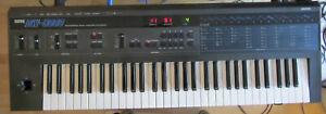 Korg DW 8000, vintage Synthesizer with warm analog sound