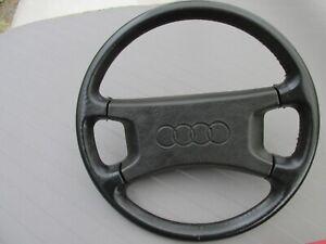 Audi Urquattro Coupe GT 80 90 Typ 81 85    Original-Lederlenkrad Top Zustand