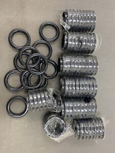 Black Grommet Rings