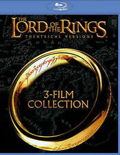 The Lord of the Rings: 3-Film Collection (Blu-ray Disc, 2014, Theatrical...
