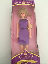 Princess Diana ROYAL DIANA Way Out Toys Collectable Doll NIB purple barbie style