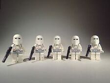 2017 LEGO Star Wars Set Lot of 5 Snowtrooper Army minifigures 7749 8084 8129