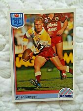 Dynamic NRL Rugby League Series 2 '96 Card Brisbane Broncos #16 Allan Langer