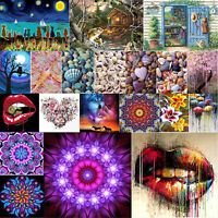 Full Drill 5D Diamond Painting Embroidery Arts Craft DIY for Home Decor Gift Lot