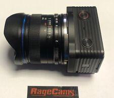 Sony DSC-RX0 II 2+LAOWA MFT 7.5mm Dreamer Camera Lens FPV Drone RIBCAGE DSLR MOD