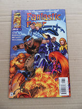 Fantastic Four (vol 2) 8  . Jim Lee Plot . Marvel 1997  - FN / VF