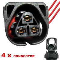 6x 2 Pin Bobine D/'allumage Connecteur Plug Pigtail cas pour TOYOTA SUPRA 1JZ 2JZ 1UZ