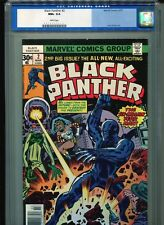 Black Panther #2 CGC 9.6 (1977) Jack Kirby White Pages