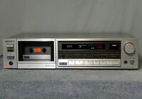 SONY TC-K555 3 Head Stereo Cassette Deck Player Recorder TCK555