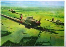 WW2 - Double carte - VITAL FORCE - Hurricane Mk1s 87 Squadron RAF en août 1940