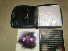 Vintage 1992 Bonneville Black Leather CD and Info Holder NEVER USED!!!