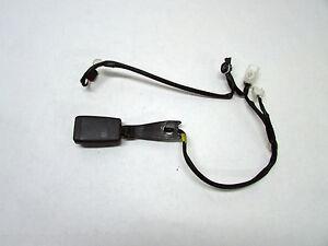 2005 SCION TC BELT BUCKLE FRONT DRIVER LEFT SIDE BLACK OEM 05 06 07 08 09 10