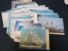 37 Tall Sailing Ship Vintage Postcards Chronik der Seefahrt Heinemann