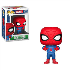 NEW OFFICIAL FUNKO POP MARVEL SPIDERMAN UGLY SWEATER #397 VINYL FIGURE