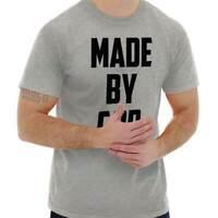 Made By God Religious Jesus Christ God Faith Christian T-Shirt Tee