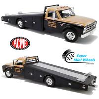 ACME 1:18 - 1967 Chevrolet C-30 Ramp Truck Smokey Yunick Racing - Black/Gold