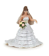 *NEW* PAPO 38819 Bride in White Lace Bridal Dress Figurine 10cm