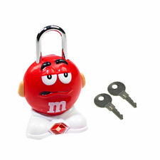 New Luggage Lock M&M's TSA Secure Suitcase Backpack Bag Travel Security Red Gift