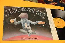 JOB ORQUESTRA LP OPEN THE DOORS..ITALY 1978 NM