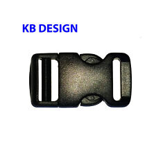 """Quick Release Buckle, Side Release Clip, 1"""" Inch, 1 Pc. Shipped from USA"""