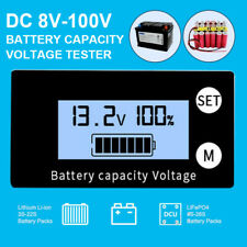 Universal BMS LCD Digital Battery Capacity Voltmeter Voltage Meter Indicator