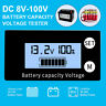 Universal BMS LCD Digital Battery Capacity Voltmeter Voltage Meter Indicator