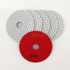 Sanding Discs Wet Polishing Pads Diamond Flexible Ceramic Tile White Bond 4''