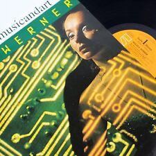 ANGELA WERNER MINIMAL SYNTH MASTERPIECE DEBUT VINYL LP 1981 ORIGINAL N.MINT