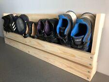 Shoe Rack - Wooden, Wall mounted