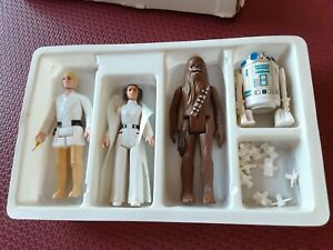 Star Wars Kenner 1977 Early Bird Mail-Away Figures Set with Box