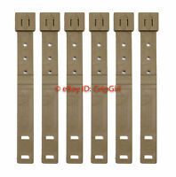 6x Lot Tactical Tailor - Short Coyote MALICE Clips 6 Pack - USMC Marine FDE NEW