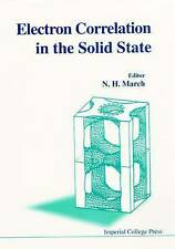 USED (VG) Electron Correlations in the Solid State