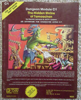 C1 - The Hidden Shrine of Tamoachan - Advanced Dungeons & Dragons - AD&D TSR