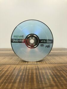 Maxell DVD+RW Rewritable 4.7GB 2 Hour Blank Discs - 50 Pack