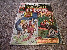 Astonishing Tales #4 (1971) Marvel Comics Ka-Zar Doctor Doom / Wally Wood VF