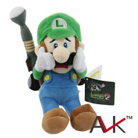 "Super Mario Bros Luigi's Mansion 2 Luigi 7"" Figure Stuffed Plush Toy Doll 20020"
