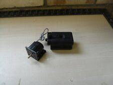 Meccano Black 6 Volt Electric Cube Motor With Battery Pack