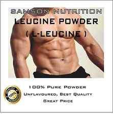 LEUCINE POWDER 1kg L-LEUCINE PREMIUM QUALITY BEST VALUE SAMSON NUTRITION