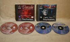 Drácula Resurrección & El Último Santuario Playstation 1 Combo, PS1, 4 Discos