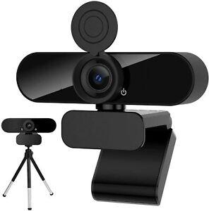 USB Webcam FullHD 1080 Skype FaceTime Mikrofon Zoom PC Laptop Plug & Play Camera