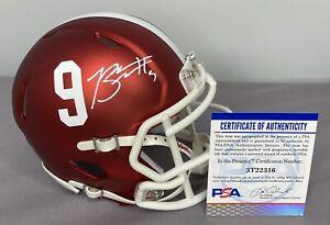 Bryce Young SIGNED Alabama Crimson Tide Blaze Mini Helmet w/ PSA COA & Proof