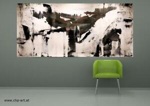 Großes Acryl Gemälde XXL Modern CHP1666 Handgemalt Bild Kunst Abstrakt 210x100cm