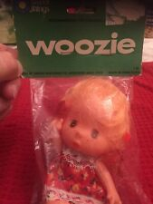 Woozie Doll Rare Blonde#88 Arrow Wholesale Made In Hong Kong. Original Pkg.