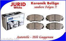 JURID White Keramik Bremsbeläge vorne für SUBARU Trezia TOYOTA Auris RAV4 Verso