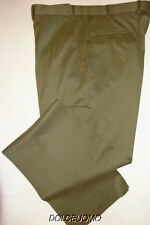 NEW $900 men BRIONI ITALY 38 W DRESS PANTS CANNES SUPER 140's WOOL SAGE GREEN b7