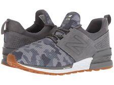 New Balance Men's Fashion Sneakers 574 Sport Decon Castlerock Pewter MS574DCY