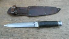 Vintage IMCO Germany Carbon Steel Dagger Fighting or Boot Knife - RAZOR SHARP!
