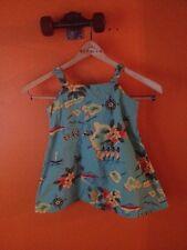 Toddlers Hilo Hattie dress xxs sz 4/5 hawaiian tropical pineapple beach hula