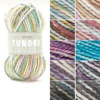 Sirdar Tundra Super Chunky Yarn Acrylic Alpaca Knitting Crochet Crafts 100g Ball